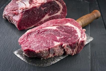 Dry Aged Steak vom bayrischen Simmental Rind